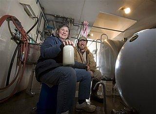 Kay and Wayne Craig from New Holstein, WI (AP photo)