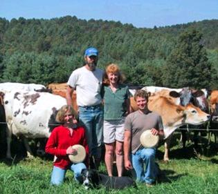 "Say ""Cheese""! - New Jersey raw milk farm family."