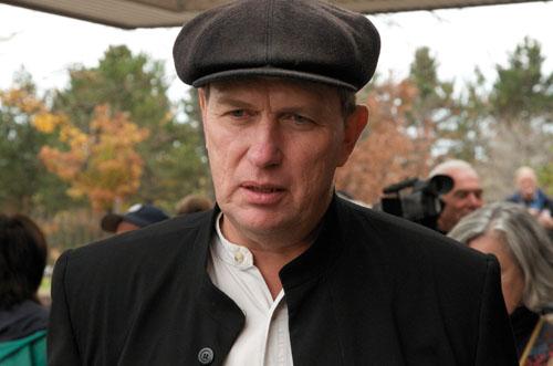 Michael Schmidt after hearing the judge's verdict Oct 20, 2008
