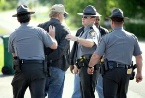 "Mark Nolt, a Pennsylvania Mennonite farmer charged with raw milk ""crimes""."