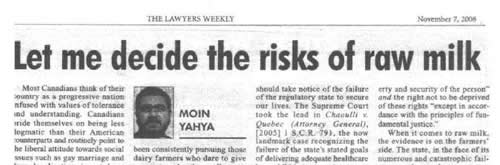 from a scan of the original story as it appeared in Lawyers Weekly, Nov. 7, 2008