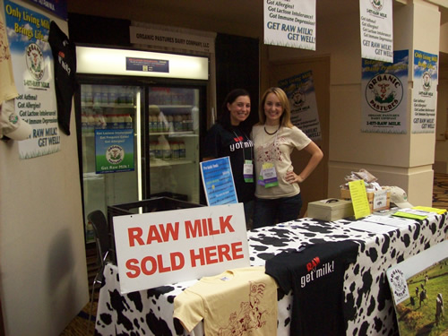 Reporting from the raw milk frontlines at the Wise Traditions conference