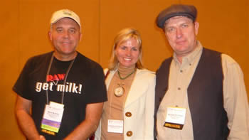 WAPF panelists Mark McAfee, Christine and Michael Schmidt